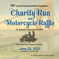 2013 Charity Run Special Events page